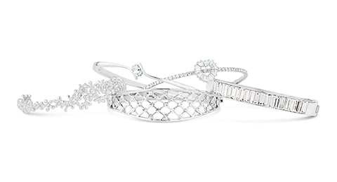 Rhodium & Silver Plated Jewellery