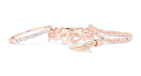 Rose Gold Plated Jewellery