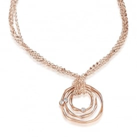 Price for Pack of 2. Stunning Rose Gold  Plated Necklace. Supplied with Presentation Box.