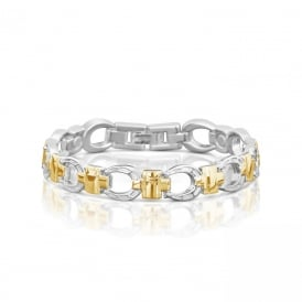 Price for Pack of Two. MAGNETIC ALLOY BRACELET (HORSE SHOE) 22134