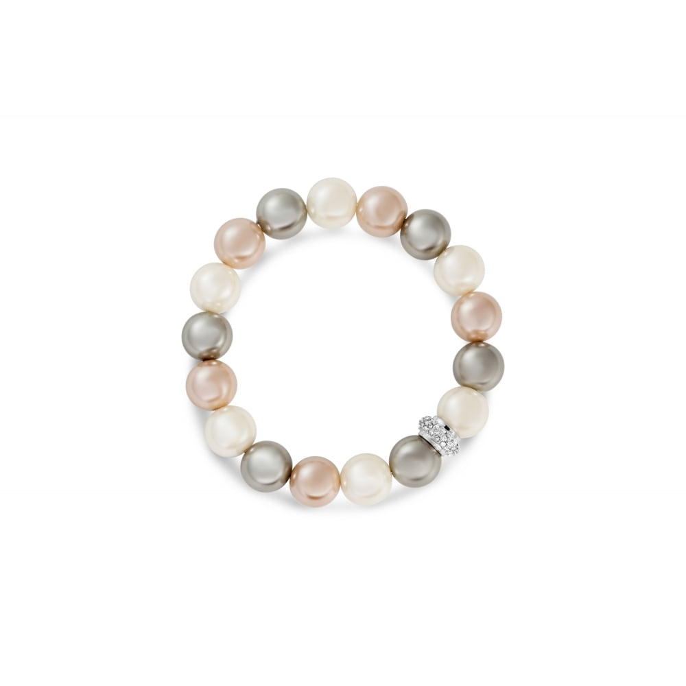 gold gillian hillman pearls rose peach design with