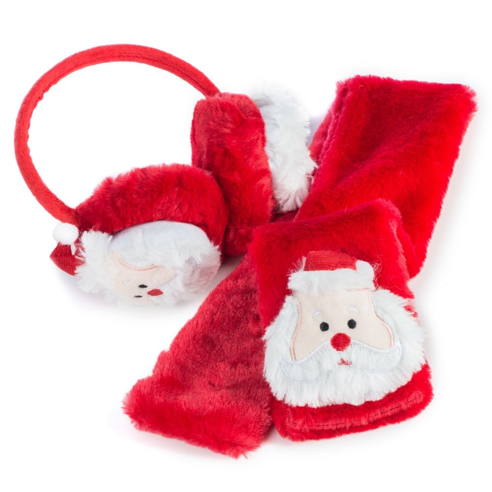 Christmas Scarf.Pack Of 6 Christmas Scarf And Ear Muff