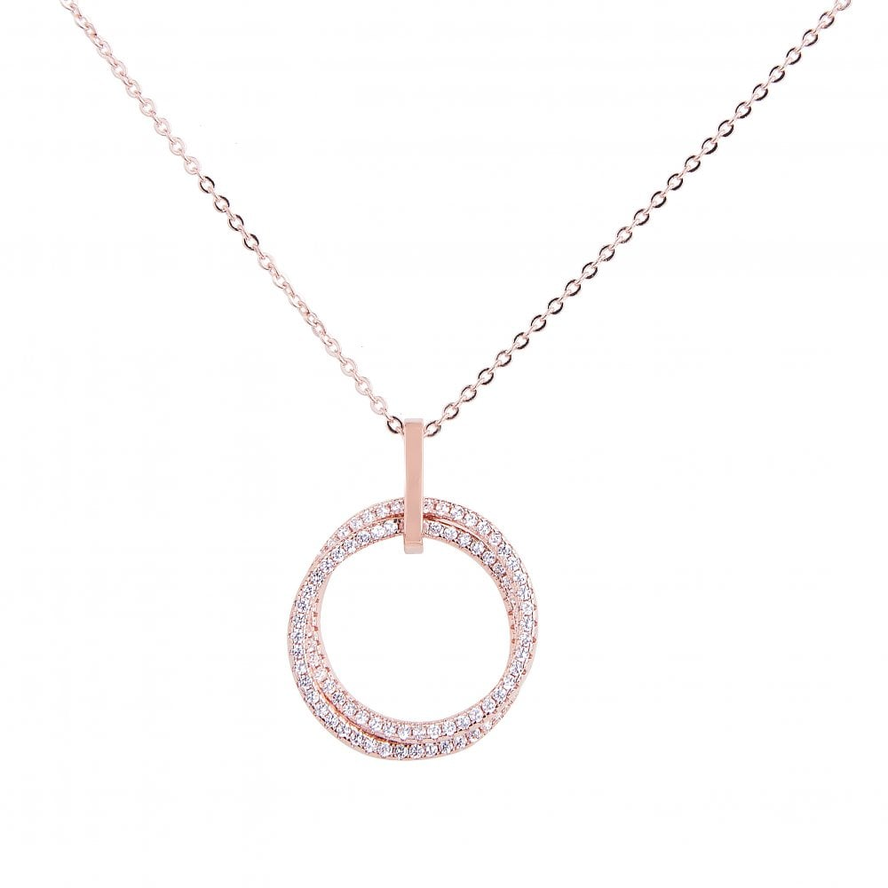 Price For 1 Rose Gold Plated Necklace N19135 With Free Gift Box