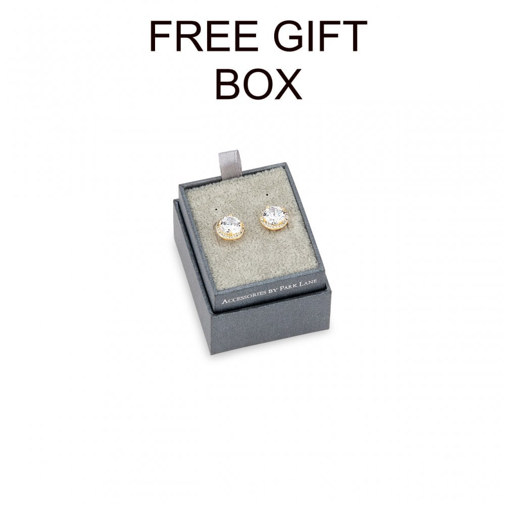 PRICE FOR PACK OF 2 Imitation Rhodium Plated Earrings E18103 With Free Gift  Box