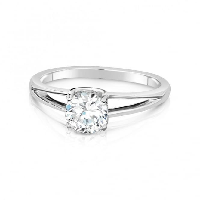 SALE PRICE Classic Single Solitaire Cubic Zirconia Ring