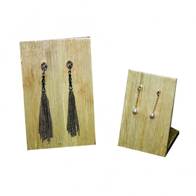 SALE Set Of 2 Natural Fibre Jewellery Display Stands
