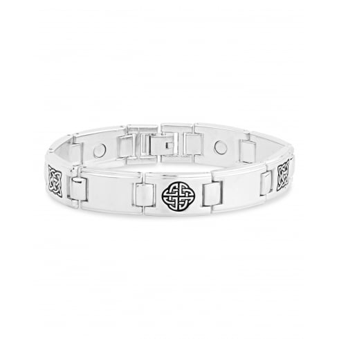 Mens Link Magnetic Alloy Bracelet.