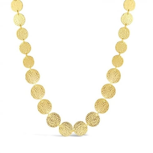 Stunning Gold Plated 28'' Necklace.