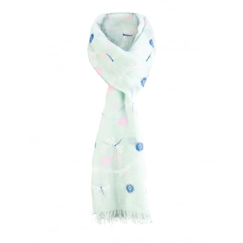 **Pack of 6 Scarves. Various Colours.