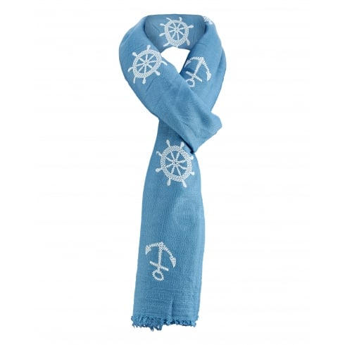Pack of 6 Scarves. Various Colours.