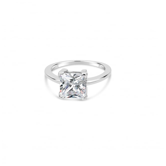 Single Princess Cut Solitaire Ring
