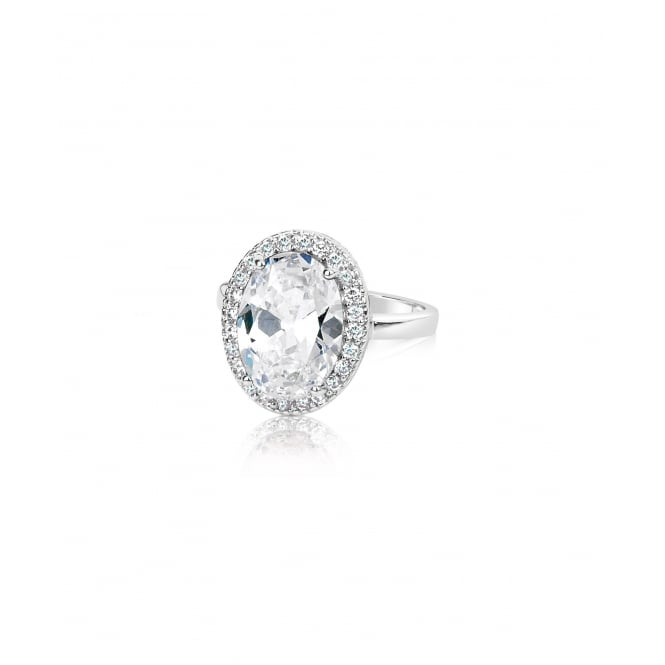 SALE PRICE Classic Oval Cubic Zirconia Ring