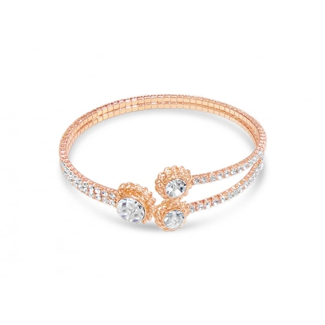 Rose Gold Plated Bracelet.