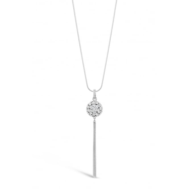 Lovely Imitation Rhodium Necklace Pouch