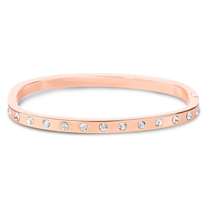 Beautiful Rose Gold Plated Cubic Zirconia Bracelet