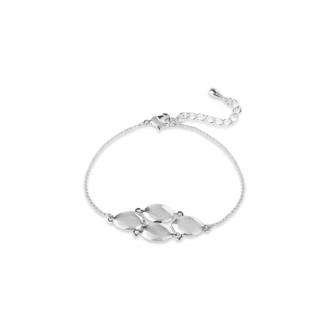 Imitation Rhodium Plated 7'' Long Bracelet