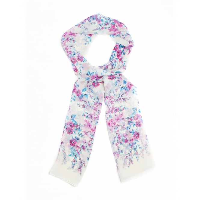 4 assorted floral ditsy scarf.