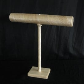 SALE Natural Fibre T Bar Jewellery Display Stand