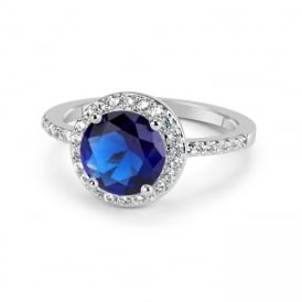 SALE PRICE Unboxed Montana Cubic Zirconia Ring