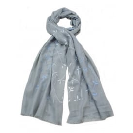 Pack of 6 Assorted Scarves. Various Colours.