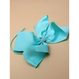 PACK OF SIX Oversized Bow with Alice Band. Various Colours.