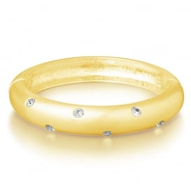 SALE PRICE FOR PACK OF FOUR. Gold Plated Bangle. Unboxed.