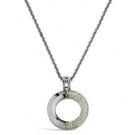 "SINGLE PIECE. Necklace. 32"" Chain. Pouch."